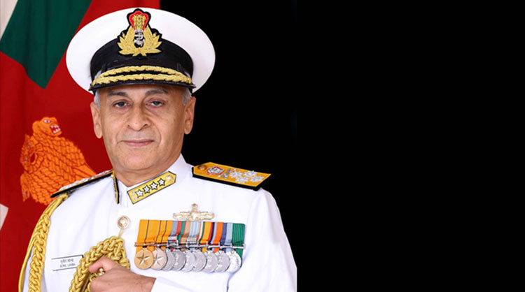 Chairman COSC and CNS Admiral Sunil Lanba Embarks on Two-Nation Visit