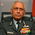 AIR CHIEF MARSHAL S.P. Tyagi PVSM, AVSM, VM, ADC Chief of Air Staff (2005)