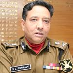 M.L. KUMAWAT, IPS Director General, Border Security Force (2009)