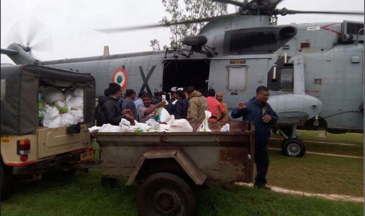HADR Operation for flood relief in Odisha