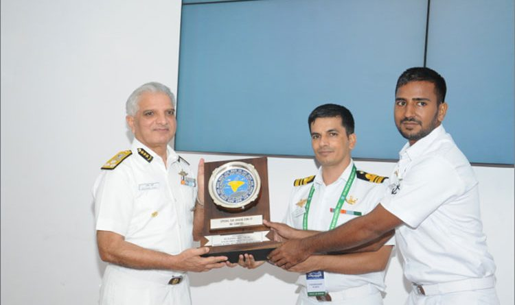 INS Sumitra awarded special Search and Rescue Award by NMSAR