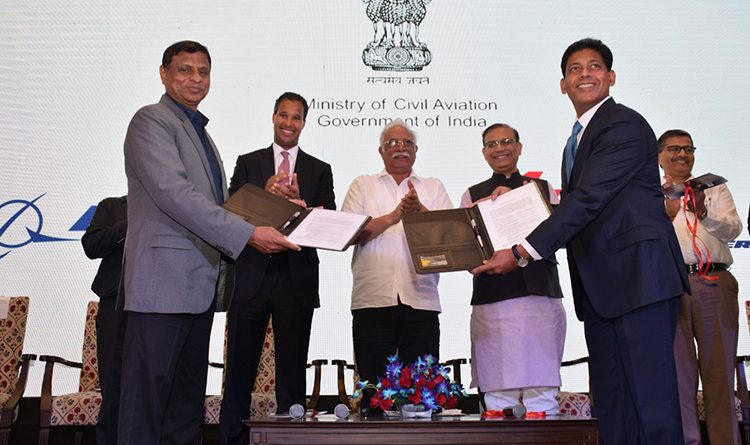 Boeing India and AIESL Exchange MoU for AME Apprenticeship Programme