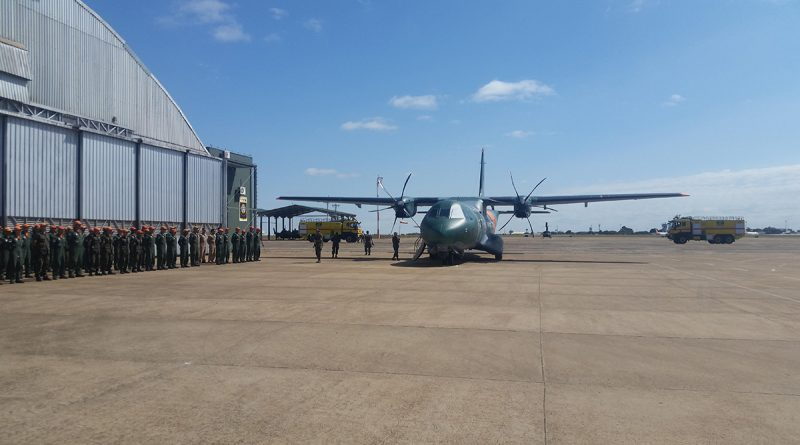 Airbus C295 SAR for Brazil Completes World Tour