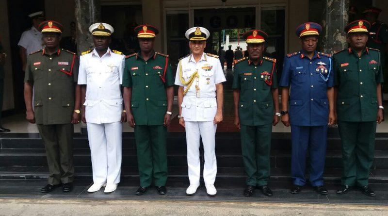 COSC and CNS Admiral Sunil Lanba visits Mozambique and Tanzania