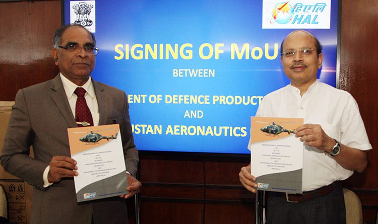 HAL Signs MoU with Government