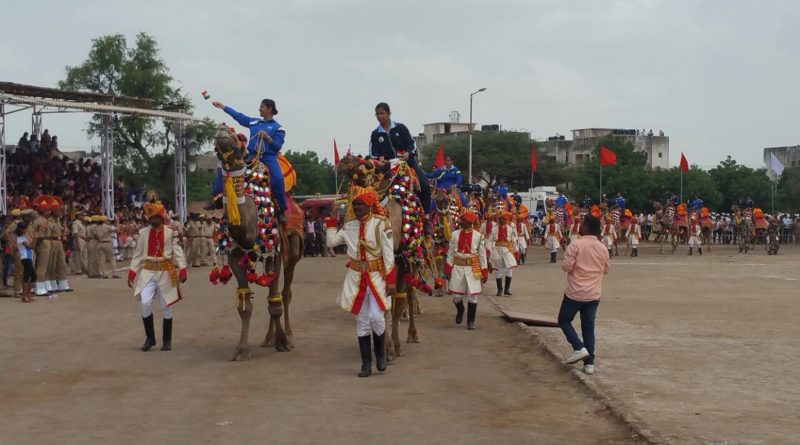 IAF and BSF Embark on an All-Women Camel Expedition