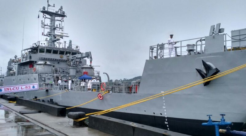 Second Ship of Landing Craft Utility MK-IV 'IN LCU L52' Commissioned at Port Blair