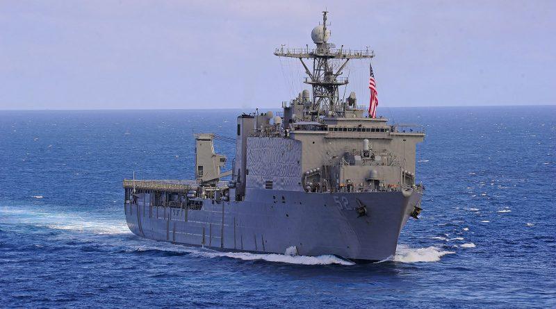 Amphibious Dock Landing Ship USS Pearl Harbor Arrives in Goa