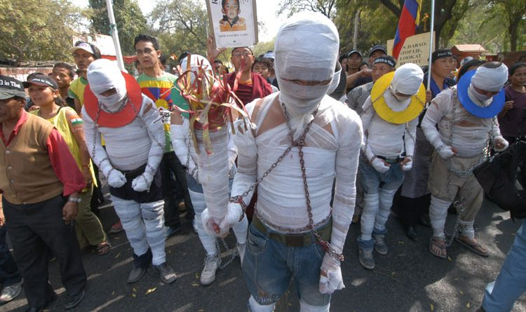 Tibetan Student Sets Himself Alight in Protest Against China