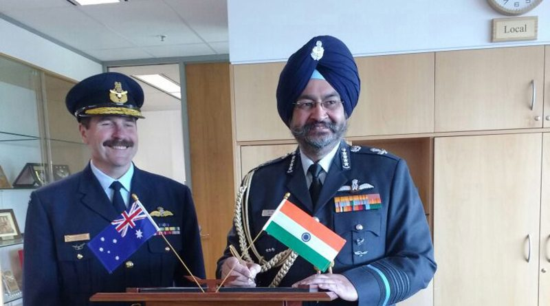 Air Chief Marshal Birender Singh Dhanoa Visits Australia