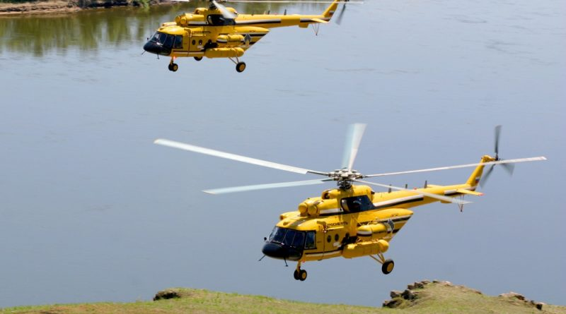 Russian Helicopters Starts Production of Mi-38T Helicopter for Russian MoD