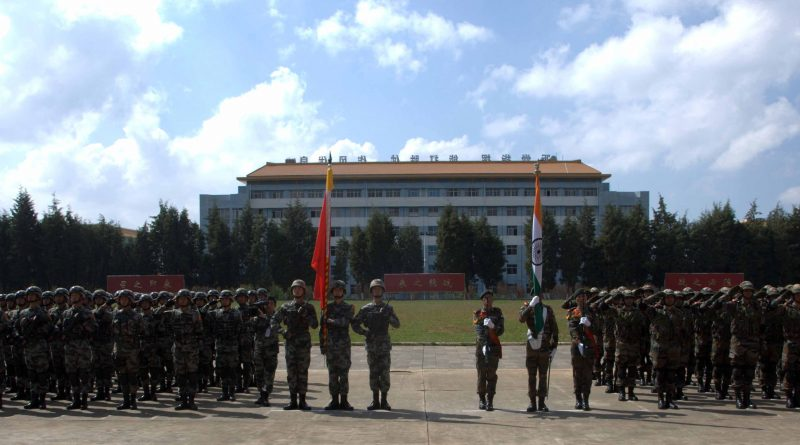 18 - Closing Ceremony - Both Contingents on parade