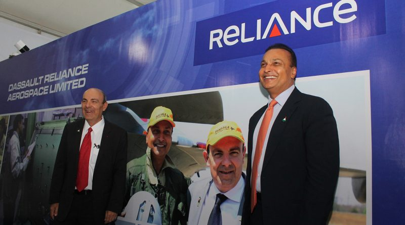 Chairmen Dassault Aviation and Reliance Group Lay Foundation Stone for DRAL