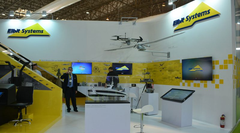 Elbit system stand