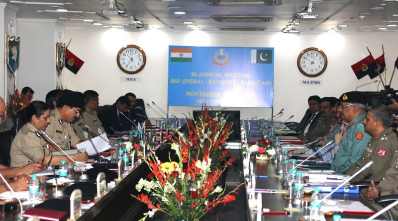 DGs of BSF and Pakistan Rangers Stress on Need for Cooperation