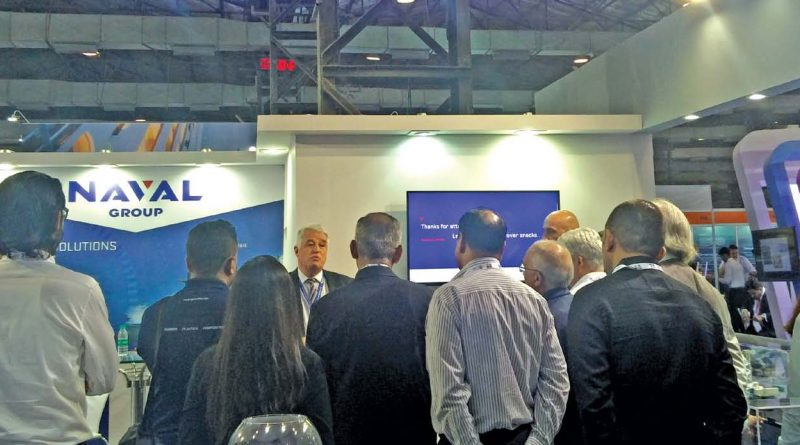 Naval Group Exhibits at SMM INMEX in Mumbai