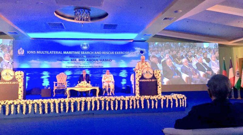 Navy Chief visits Bangladesh for IMMSAREX