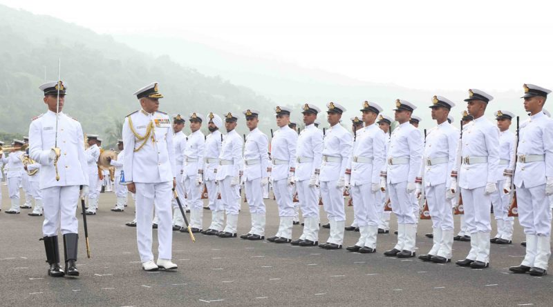 Passing Out Parade Held at Indian Naval Academy