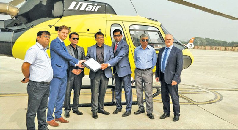 Airbus Helicopters Signs HCare Smart Contract with UTair in India