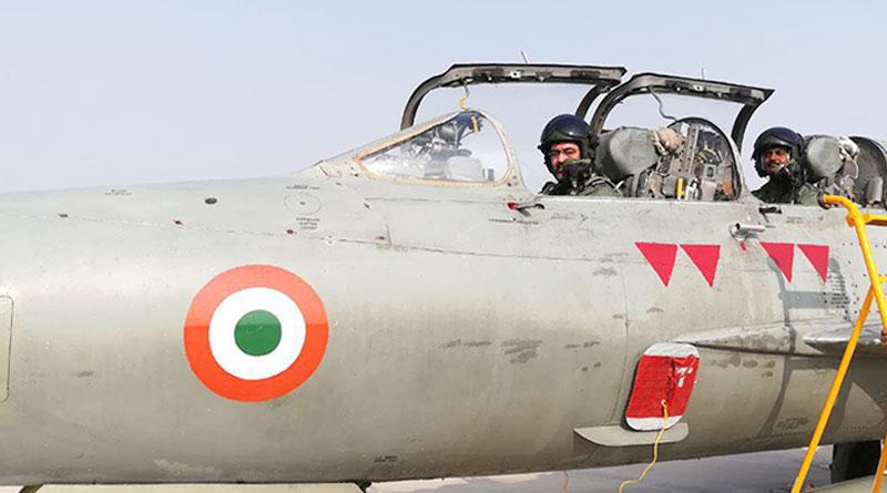 Air Chief Marshal BS Dhanoa Flies the Last Sortie of the 'Hawkeyes'