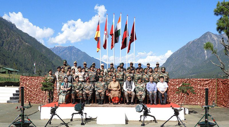 Defence minister visits forward army and air force bases in Assam and Arunachal Pradesh