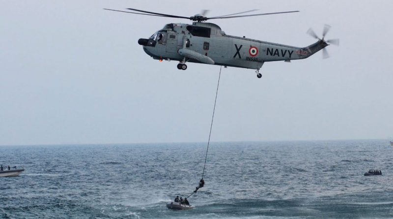 Navy's Search and Rescue Operations in face of OCKHI