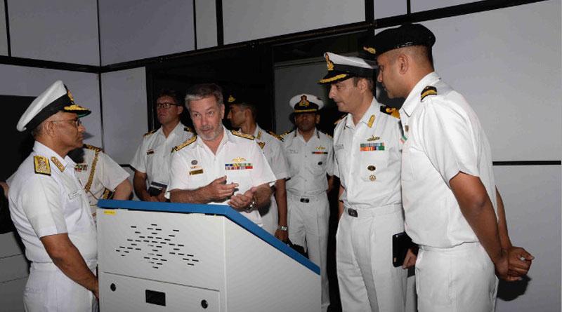 Chief of Royal Australian Navy's Visit Reaffirms Indo-Australia Ties