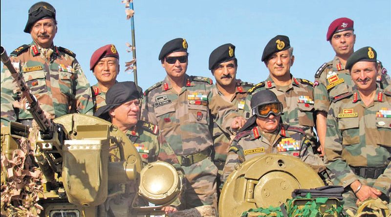 Southern Command conducts Exercise 'Hamesha Vijayee' in Rajasthan