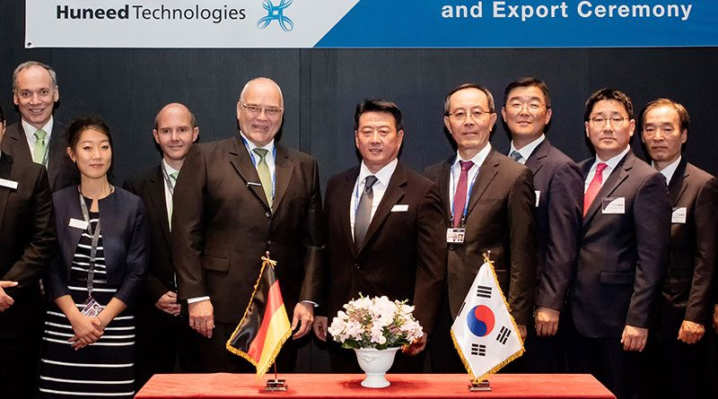 HENSOLDT Joins Forces with Korea's Huneed Technologies