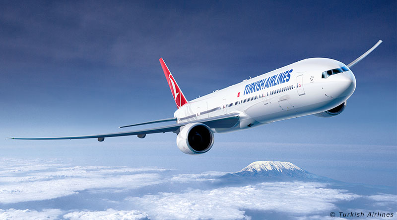 Turkish Airlines passenger numbers up 9.3pc in 2017