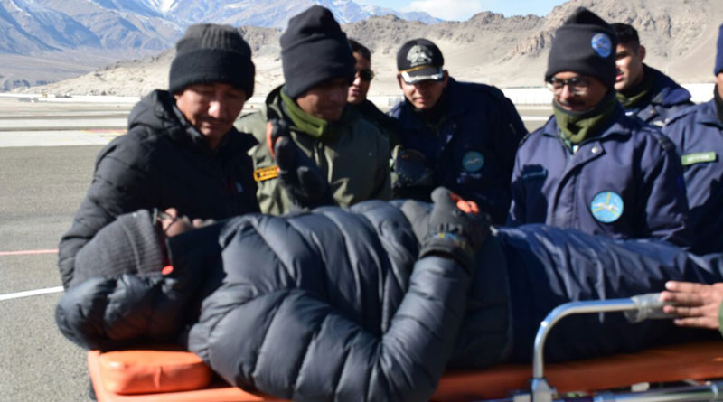 IAF's 'Siachen Pioneers' Carries a Successful Rescue Operation in Ladakh