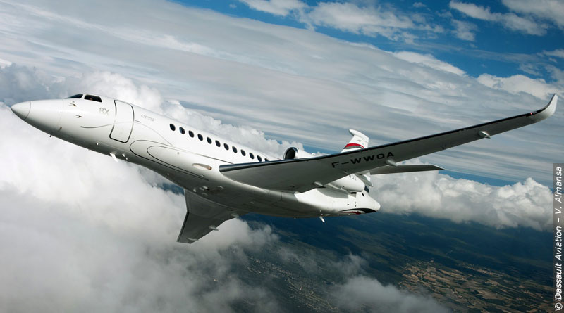 Dassault Aviation's Falcon 8X to Debut at Singapore Airshow
