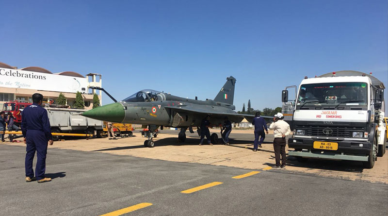 HAL Successfully Carries Out Hot Refueling Trial-cum-Sortie of LCA-Tejas