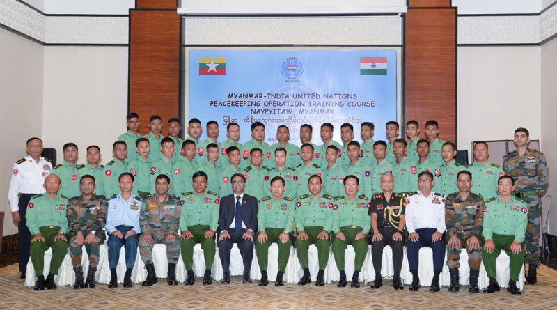 Indian Army delegation to impart UN Peacekeeping training to Myanmar Army