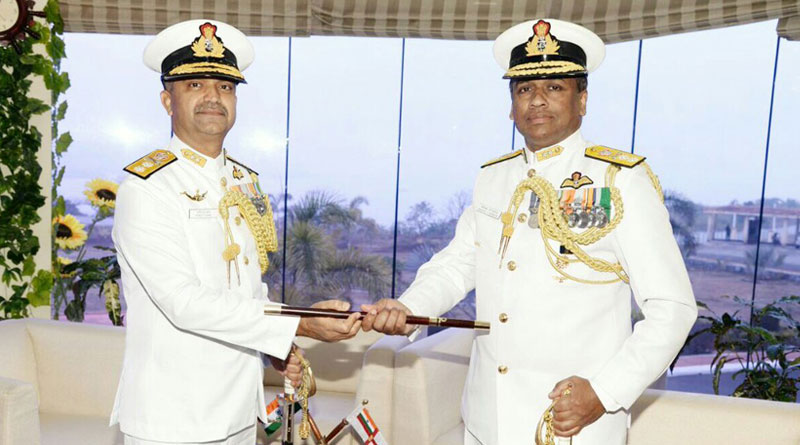 Rear Admiral Philipose G Pynumootil takes over as Flag Officer Naval Aviation