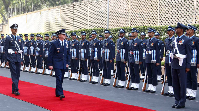 US Air Force Chief of Staff Discusses Strengthening Strategic Military-to-Military Partnership with India