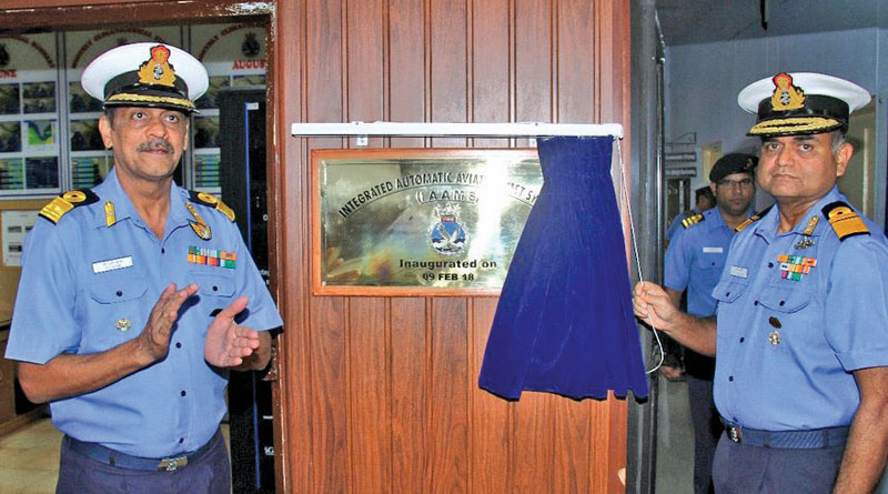 Integrated Automatic Aviation Meteorological Systems (IAAMS) inaugurated at INS Garuda