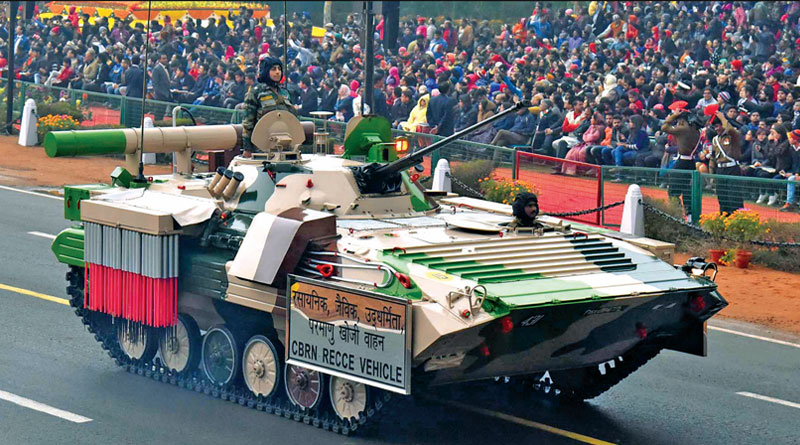 CBRN RECCE Vehicle at Republic Day Parade