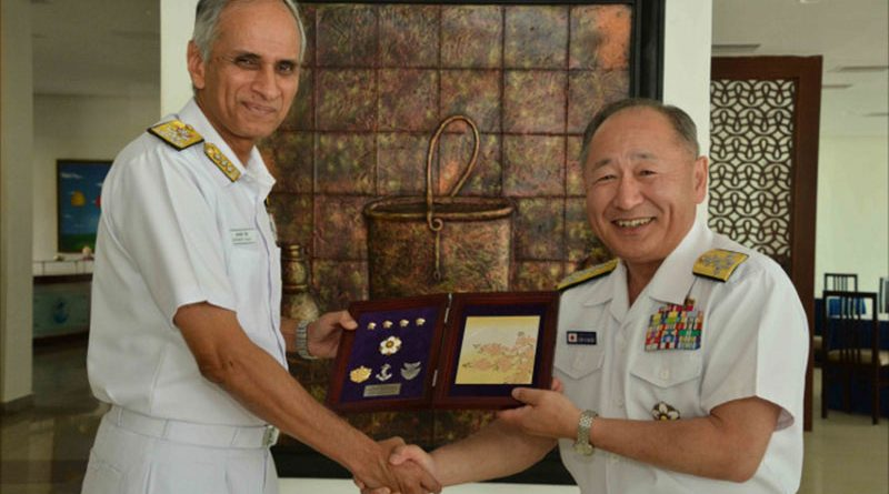 Chief of Staff, Joint Staff of Japanese Self Defence Forces visit ENC