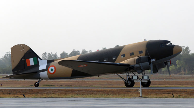 Dakota DC-3 VP 905 Formally Inducted into Indian Air Force