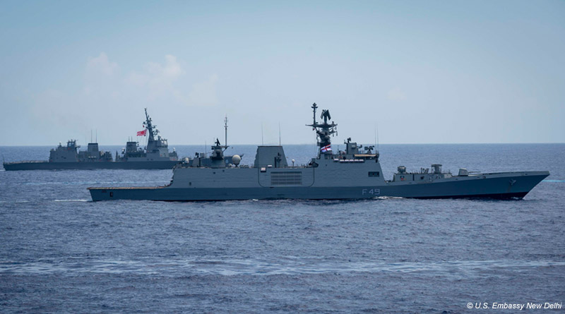 India, U.S. and Japan Naval Forces Conclude Exercise Malabar 2018