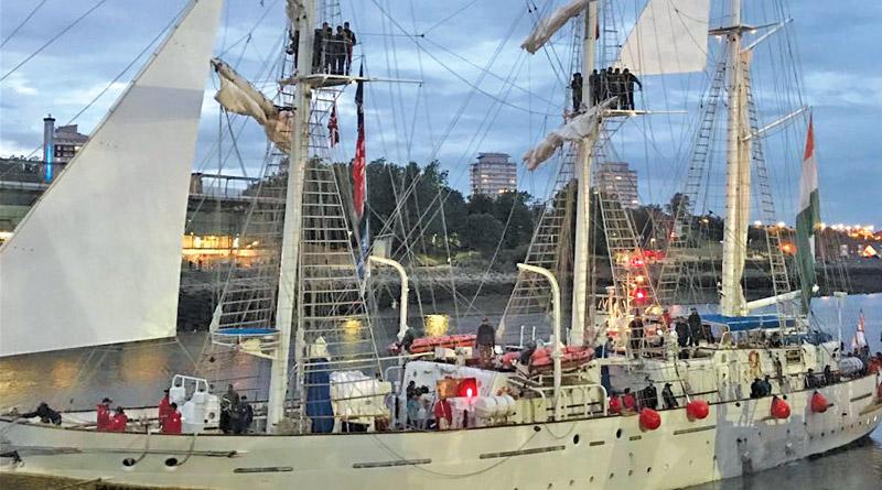 INS Tarangini Participates in Tall Ship Races – 2018