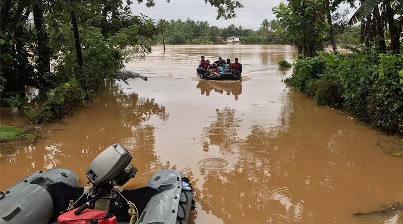 Southern Naval Command Launches Operation Madad to Assist Flood Hit Kerala