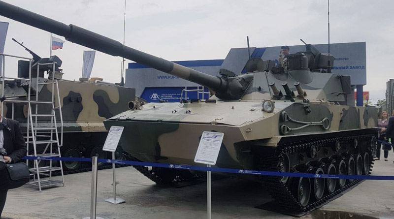 Russia's Sprut SDM-1 can be the answer to China's growing sea and land challenge