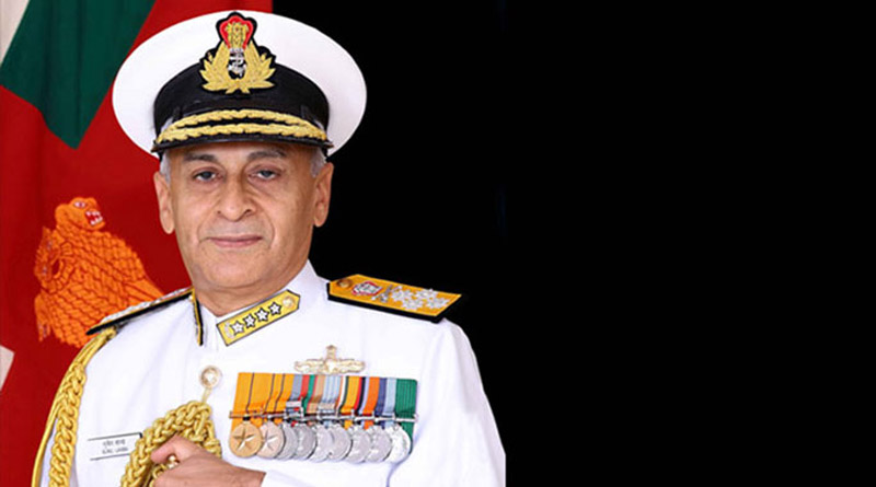 Chief of Naval Staff, Admiral Sunil Lanba