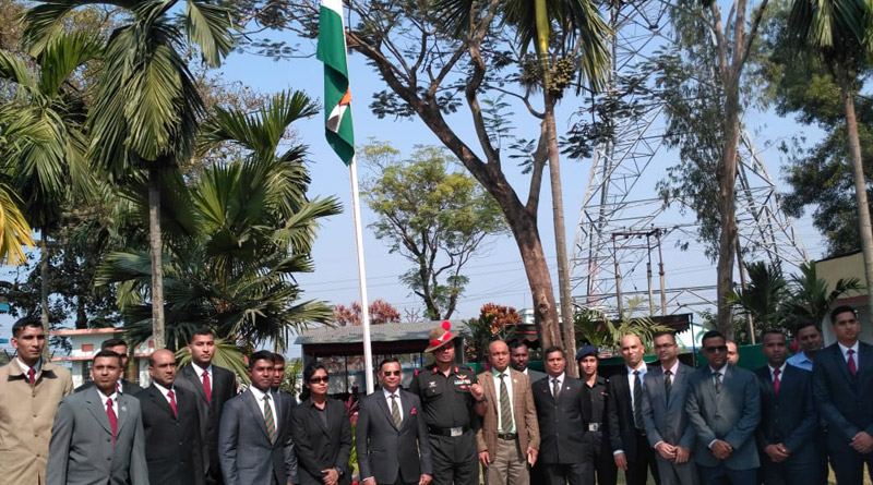 Bangladesh Army Delegation Visits Trishakti Corps