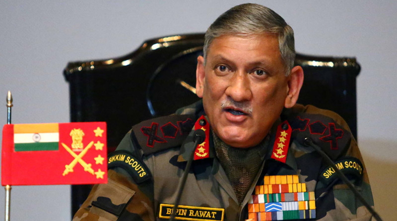 Chief of Army Staff, General Bipin Rawat