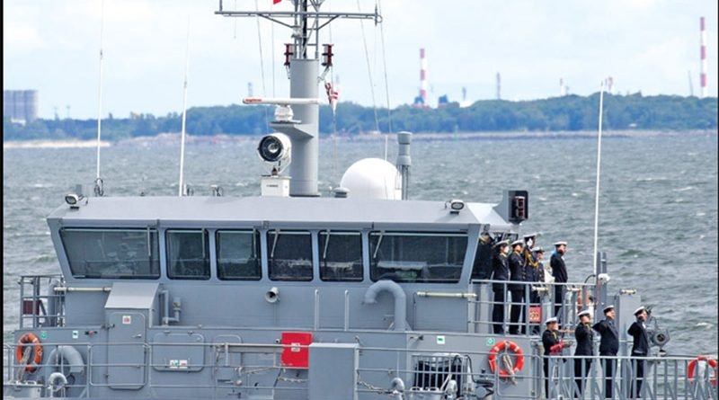 CONTROP Delivers iSea-30HD EO/IR Naval Surveillance System to Latvian Navy