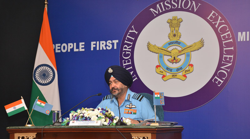 Chief of Air Staff, Air Chief Marshal B. S. Dhanoa