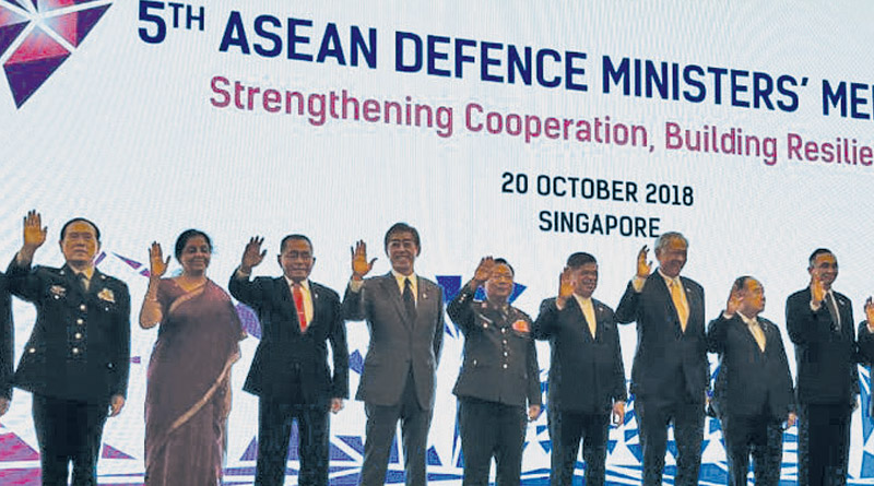 Defence Minister Addresses ADMM at Singapore